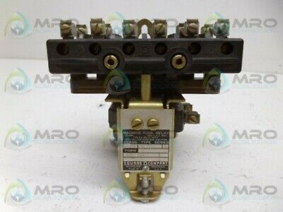 Square D 8501-A0-33 Relay Used*