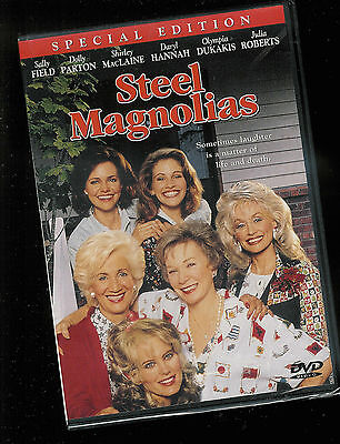 Steel Magnolias (DVD, Spec ED) Julia Roberts NEW USA R1