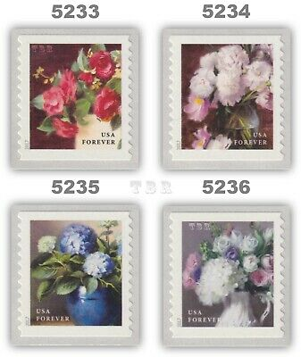 5233 5234 5235 5236 Flowers From The Garden Forever Set 4 Coil Singles - Buy Now