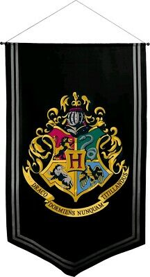 Artwork & Wall Pieces--Harry Potter - Hogwarts Satin Banner