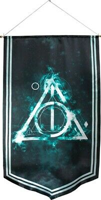 Artwork & Wall Pieces--Harry Potter - Deathly Hallows Satin Banner