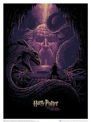 Artwork & Wall Pieces--Harry Potter - & the Eyes of the Basilisk Art Print