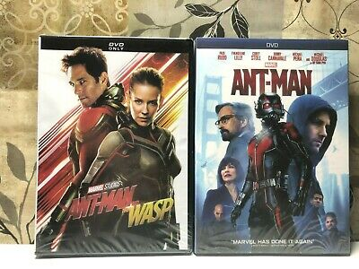 Ant Man 1 & Ant man and the wasp 2 (DVD)  2 MOVIES Bundle Set New Sealed