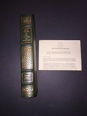 The Witches Of Eastwick-John Updike~Signed First Franklin Library~Leather