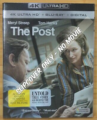 THE POST 4K UHD Blu-ray Slipcover (COVER ONLY-NO MOVIE DISC)