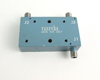 Narda 2867 RF Coax Multi Directional Coupler SMA/Female Connectors 216275-9