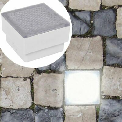 2 LED In Ground Floor Recessed Decking Light Lamp Uplight Patio Garden Outside