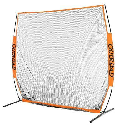 Outroad 7x7 ft Portable Golf Net Hitting Pitching Practice Driving with Bag