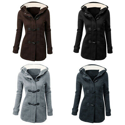 Outwear Trench Jacket Parka Warm Lady Winter Hooded Tops Slim Plus Women's Coat