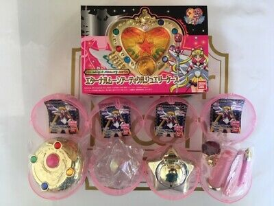 Sailor Moon Eternal Moon Articles Jewelry case Memorial Articles All 4 Full Comp