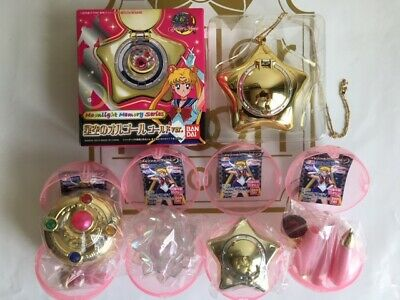 Sailor Moon Music box of the starry sky Gold Ver Memorial Articles All4 Full Set