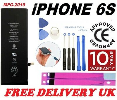 New Genuine Replacement Battery for Apple iPhone 6S 1715mAh High Capacity +Tape