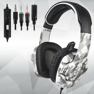 SADES SA-708GT Universal Gaming Headset with Microphone for PS4 PC XBOX One