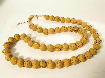 Antike Glasperlen Murano Old Venetian King trade glass beads Venedig R Afrozip