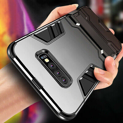 For Samsung Galaxy S10 Plus S10 Shockproof Hybrid Tough Armor Stand Case Cover
