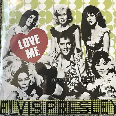ELVIS PRESLEY  -  Love Me  - REISSUE  VINYL LP -  NEW & SEALED