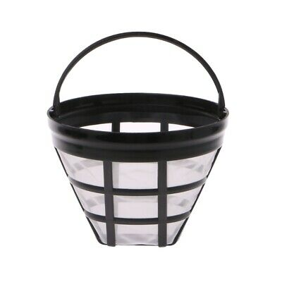 Replacement Coffee Filter Reusable Basket Refillable Cup Style Brewer Tool