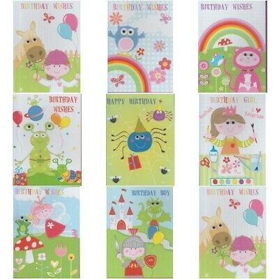 Birthday Childrens 3d moving eyes gogglies Card