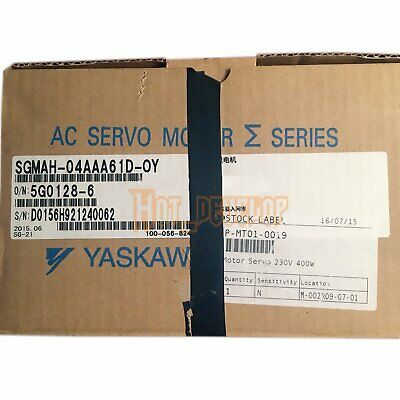 New In Box 1PCS Yaskawa SGMAH-04AAA61D-OY SGMAH04AAA61DOY One year warranty