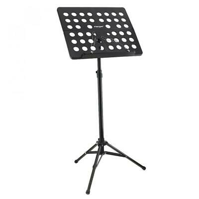 Music Conductor Stand Adjustable ABS Sheet Aluminum Alloy Tripod Holder New