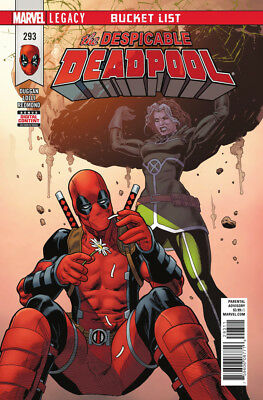 DESPICABLE DEADPOOL (2017) #293 New Bagged
