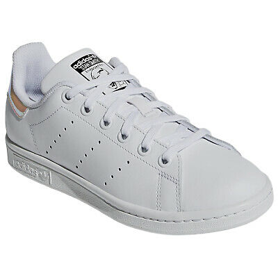 new styles cc90d 133c1 Adidas Stan Smith Leather Casual Retro Low-Top Sneakers Youth Trainers