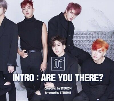 MONSTA X: Are You There* Take 1 Full Package Poster (CD, Star Ship) Random