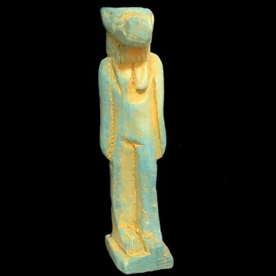 Beautiful Ancient Egyptian Amulet 300 Bc (25)