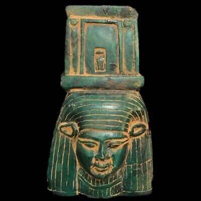 Beautiful Ancient Egyptian Bust Plaque 300 Bc (1) Large !!!!