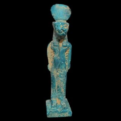Beautiful Ancient Egyptian Statue 300 Bc  Large !!!!