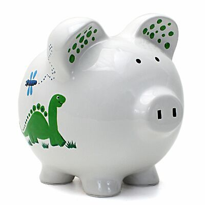 Dinosaurs & Dragonflies Piggy Bank
