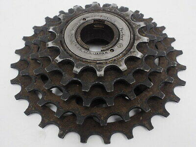 New-Old-Stock Suntour Winner Pro 5-Speed Freewheel w//Silver Finish 13x30