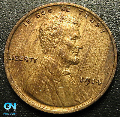 1914 P Lincoln Cent Wheat Penny  --  MAKE US AN OFFER!  #G5155