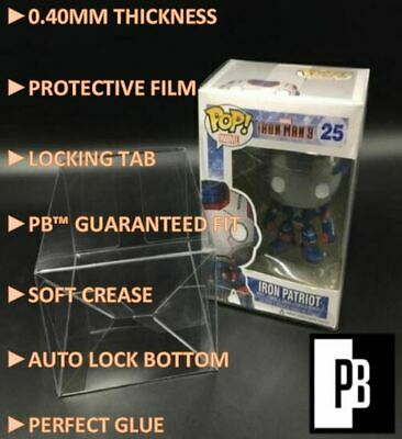 "5,10,15,20,25,50,75,100,200,250,300 Pb .40Mm 4"" Funko Pop! Protectors Clear Film"