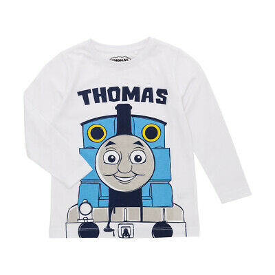 Thomas The Tank Engine Boys Licensed tee t shirt top long sleeve New with tags