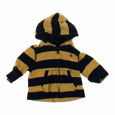 babyGap Baby Boys Hoodie, size 3 mo,  blue/navy, yellow,  cotton