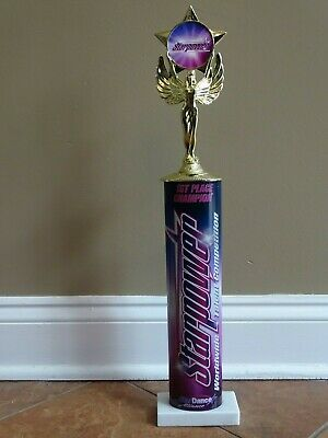 Starpower Top Gun Performer Dance Award 8X10 Plaque Sporting Goods