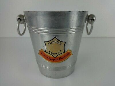 Verve Cliquot Champagne Ice Bucket Vintage Traditional Drinks Cooler Ponsardin