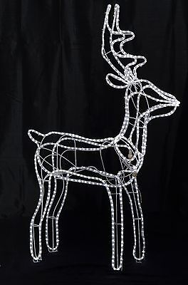 5 Ft Led Reindeer Lighted Christmas Outdoor Decor Standing