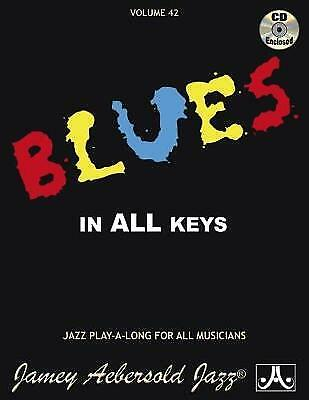 Volume 42: Blues In All Keys (with Free Audio CD) - 9781562242008