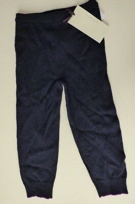 Stella McCartney Baby wool cashmere joggers 18M 24M navy trousers pants NEW