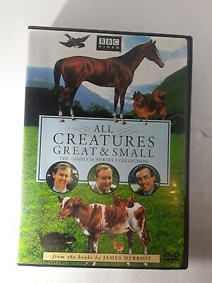 All Creatures Great and Small - Series One Set (DVD, 2002, 4-Disc Set, Four Dis…