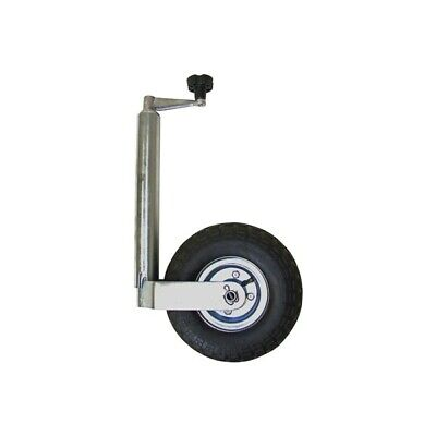 Jockey Wheel Pneumatic No Clamp 48mm Maypole 4375C