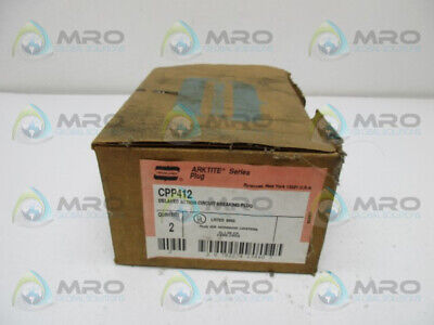 Crouse Hinds Cpp412 Plug Delayed Action 3W 20Amp * New In Box *