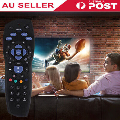 Foxtel Remote Control Replacements Foxtel/PayTV/Sky New Zealand/MyStar Black