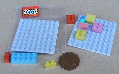 1:12 Scale Plastic Lego Set Tumdee Dolls House Miniature Nursery Accessory