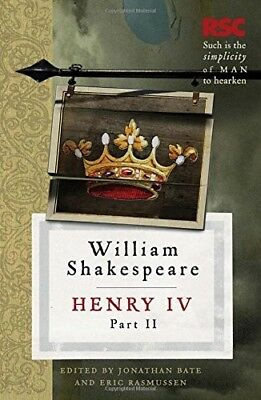Very Good, Henry IV, Part II (The RSC Shakespeare), Shakespeare, William, Book