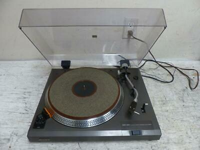 RARE SONY PS-11 Direct Drive Turntable with Grado G Cartridge ~ FREE SHIPPING