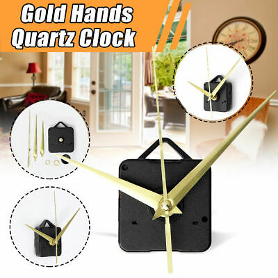 Quartz Clock Movement Mechanism Replacement DIY Repair Parts Hands Kit Supply