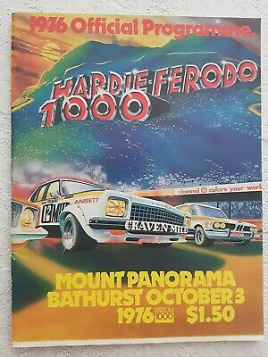 1976 Hardie Ferodo Bathurst 1000 Program
